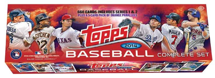 2014 Topps Baseball Factory Set Releases 7 16 3 Tbs Comics