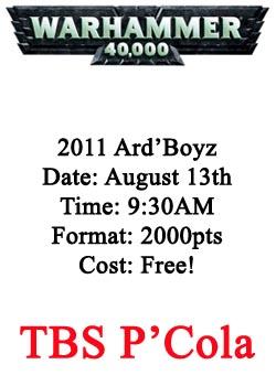 40K Ard'Boyz2011