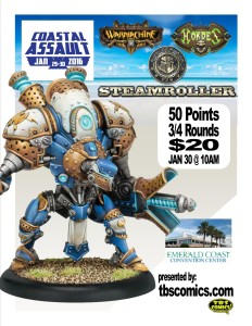 Warmahordes CA2015 one sheet