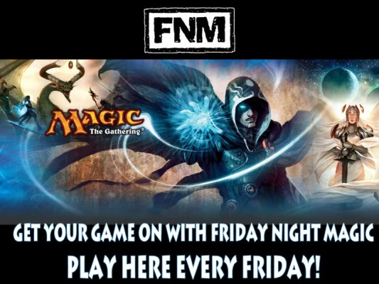 Friday Night Magic Locations Banner