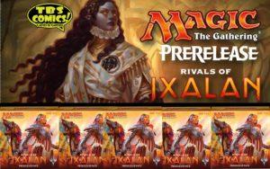 MTG: Rivals of Ixalan PreRelease Weekend!