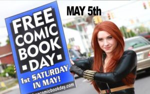 Free Comic Book Day May 5th, 2018