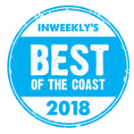 "TBS Comics wins inweekly ""Best of the Coast"" 2018"