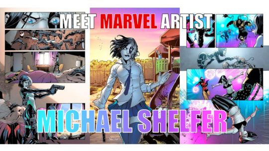 Michael Shelfer is coming to TBS Comics Pensacola!