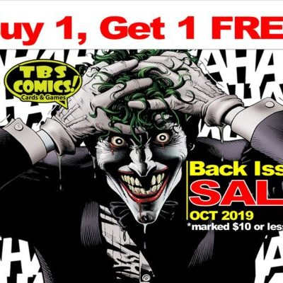 Back issue Sale 2019 joker